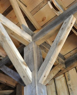 What Type Of Wood Is Used For Support Beams Think Landlord